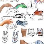 14 НАЧИНА за да нарисуваме животни от детска ръка:)
