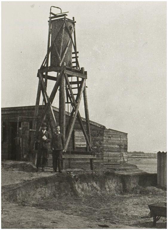 Liessel, Werkverschaffing Liessel. Opzichterskeet en werktoren. 1932