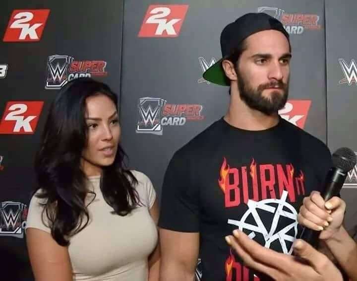 Seth Rollins & His New Girlfriend