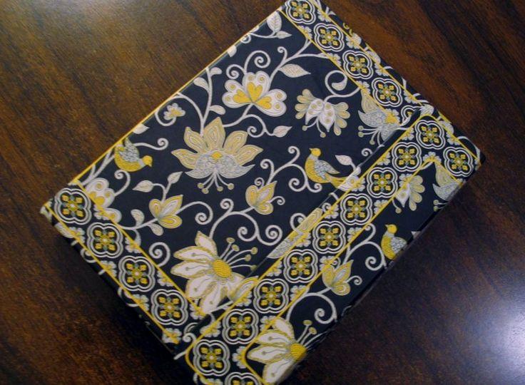 Vera Bradley Coupon Holder Grocery List Organizer Gold & Black Floral Magnet  #VeraBradley