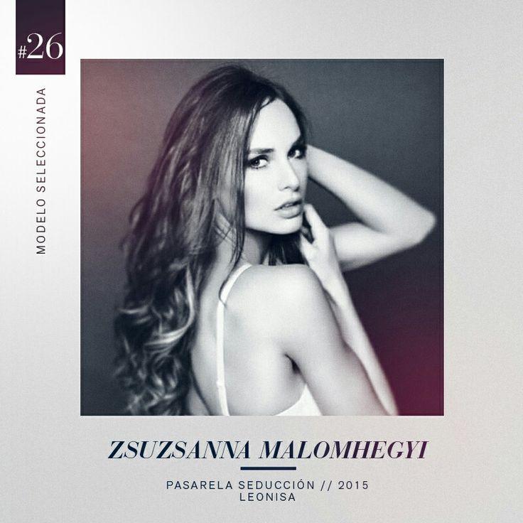 Una belleza delicada y una imponente seguridad convirtieron a Zsuzsanna Malomhegyi en la seleccionada #26 del grupo de 30 modelos que harán parte de nuestra pasarela Seducción Leonisa 2015. #LeonisaSpirit #DesnudaTuAlma #Colombiamoda #MadeInHeavenProductions