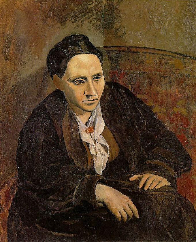 Picasso's Gertrude Stein. 1906
