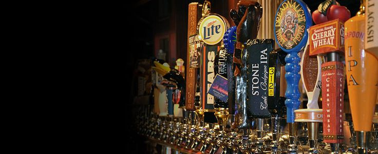 Timothy O'Toole's Pub in Chicago, IL has 48 beers on tap with one of the best craft beer lists in the city! Find more places to watch the World Cup in the USA: http://pin.it/AeGWA1a