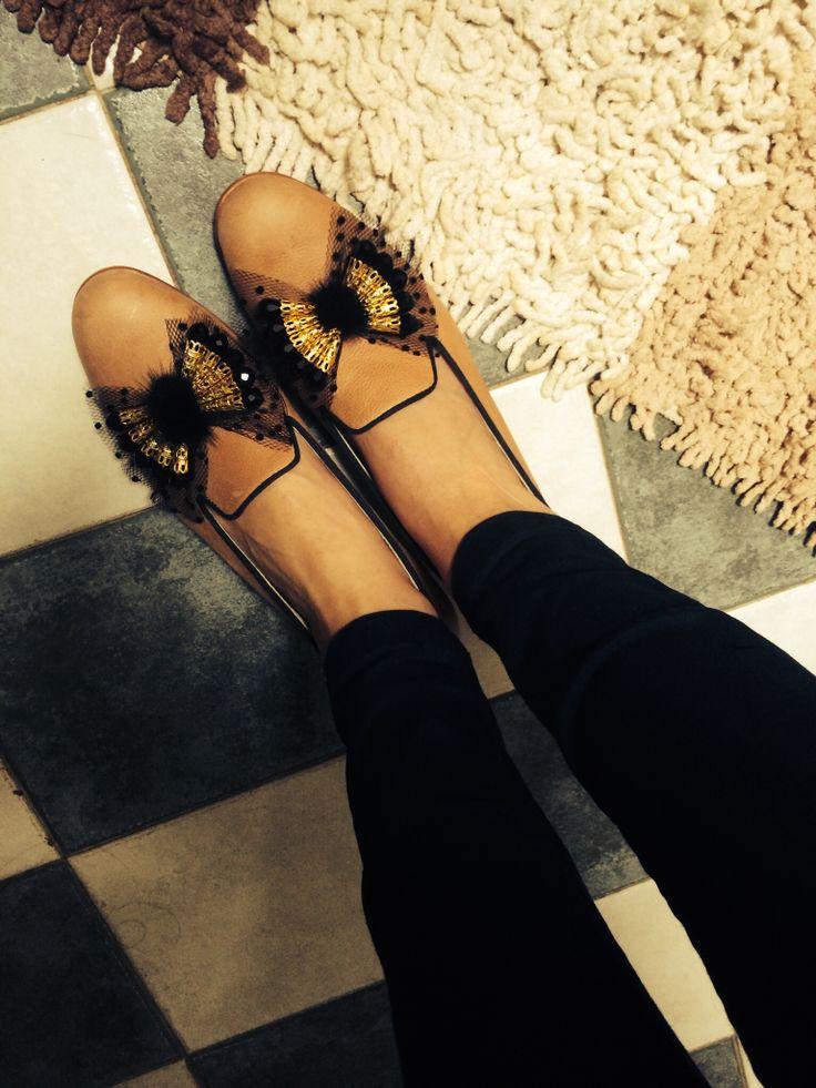 Miki& Choya embellished loafers