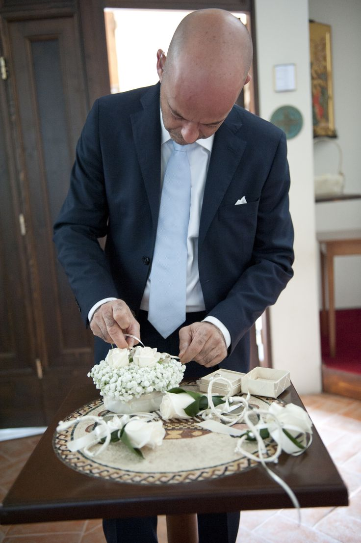 arranging the wedding