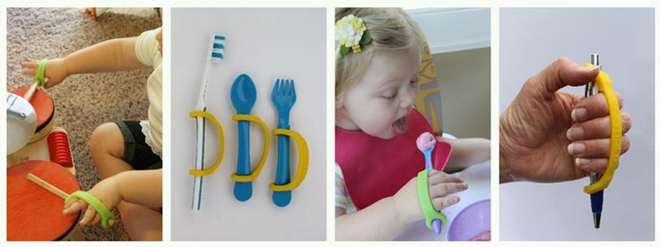 Eating Utensils for Children With Cerebral Palsy - Helping your child gain independence via special eating utensils and devices can be a great first step for your child at an early age.