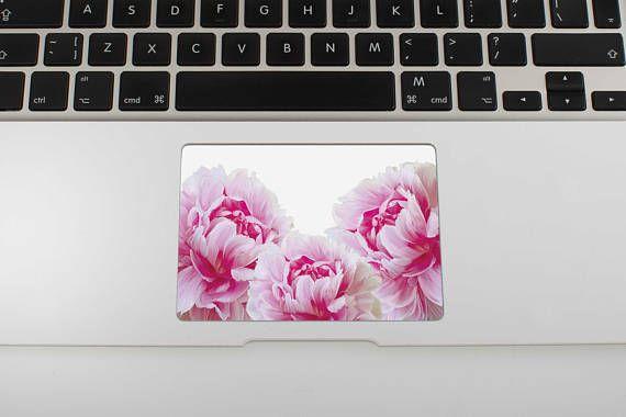 Flowers Peony Skin MacBook Air Sticker Touchpad Stickers