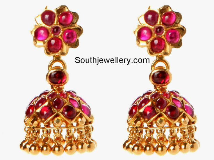72 Best Images About Gold Jhumkas On Pinterest Antique