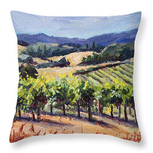 Throw Pillow #winecountry #winery #decor