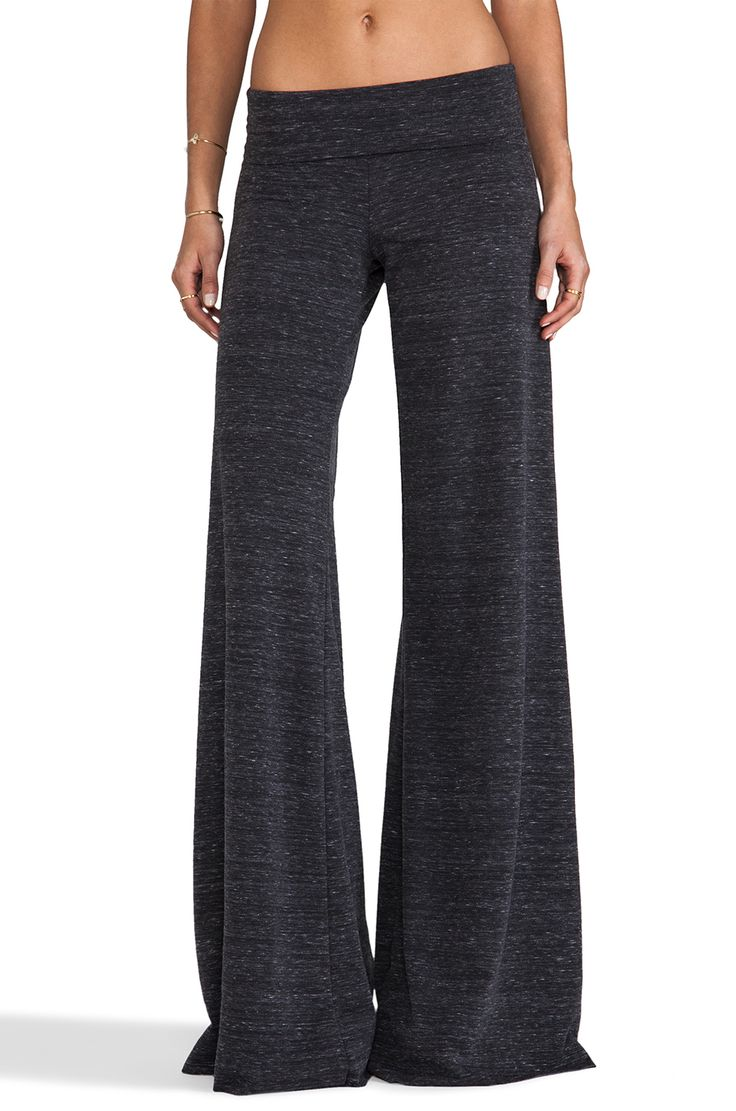 Saint Grace Stripe Carol Pant in Marble Black from REVOLVEclothing