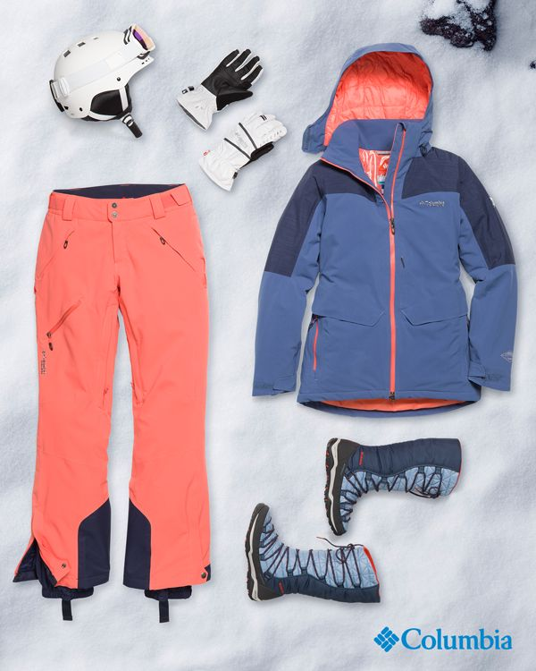 The holidays can be grueling, and that's just the weather. Put Columbia ski and snow gear at the top of your shopping list so your winter forecast will always be warm and dry.