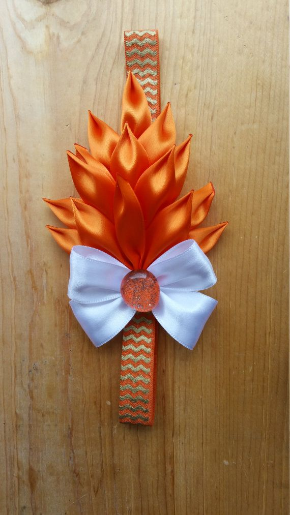 flower headband by PQbows on Etsy