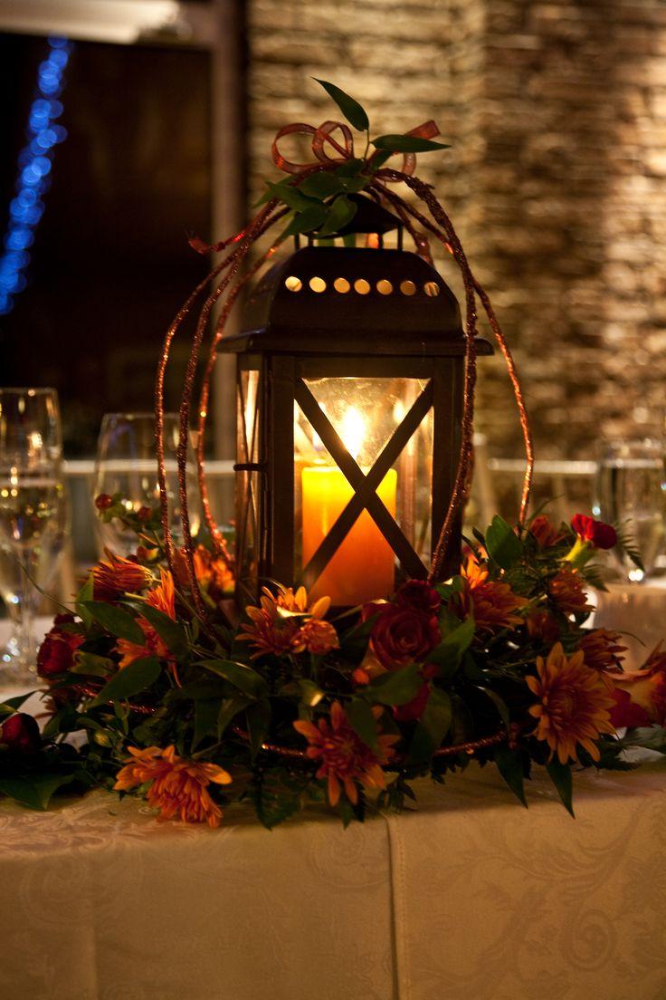 Best fall lantern centerpieces ideas on pinterest