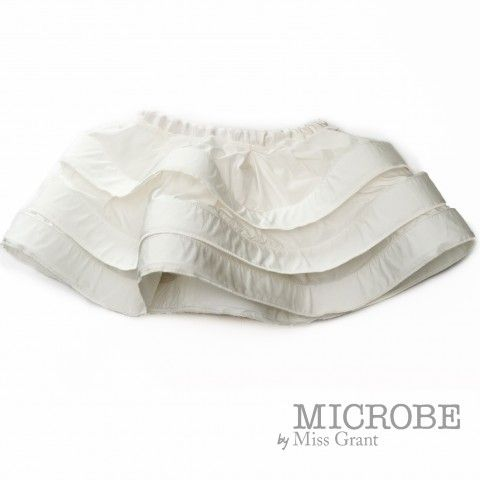 MICROBE by #missgrant FLOUNCED TAFFETA SKIRT. Sale 50% off Spring&Summer Collection! #discount