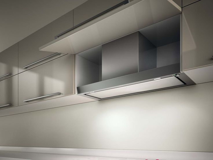 Built-in Glass and Stainless Steel cooker hood FILO Architecture Collection by Elica | design Elica Design Center