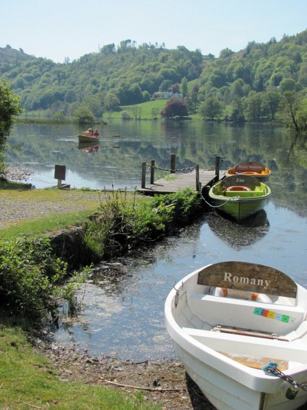 "Grasmere, Cumbria, The Lakes District.  The poet William Wordsworth, who lived in Grasmere for fourteen years, described it as ""the loveliest spot that man hath ever found""."
