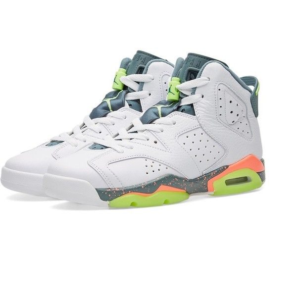 Nike Air Jordan 6 Retro BG ($120) ? liked on Polyvore featuring men\u0027s  fashion