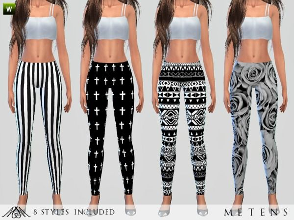 The Sims Resource: Back To Black by Metens • Sims 4 Downloads