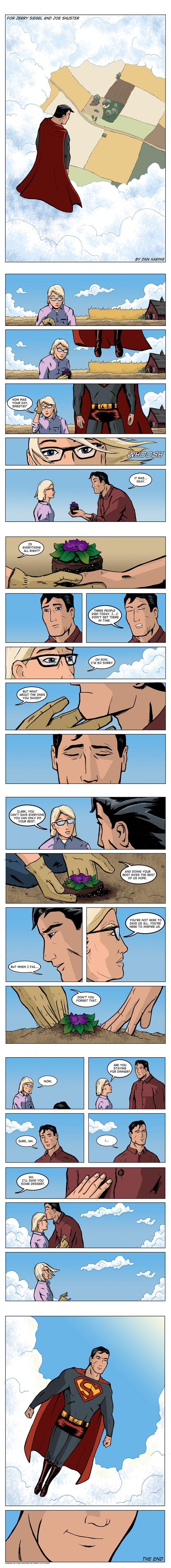 Superman Comic http://geekxgirls.com/article.php?ID=6817