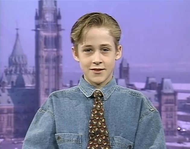 young Ryan Gosling interview as he becomes the first Canadian Mouskateer?