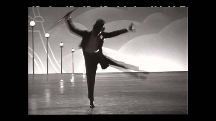 """Top Hat, White Tie, and Tails"" from Top Hat with Fred Astaire - this man is amazing!"