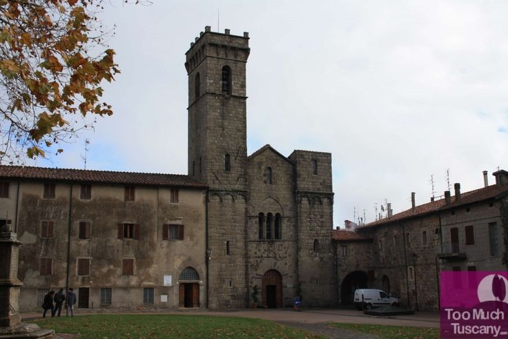 Abbey of San Salvatore is in the center of the Abbadia San Salvatore, a lovely city on Mount Amiata famous for its mines. It was founded by Longobards around 762