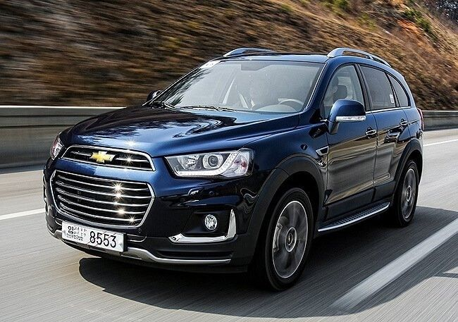2019 Chevrolet Captiva Exterior Auto De Lujo General Motors