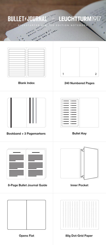 Kickstarter Calendar Planner : Bullet journal journaling at the speed of life by ryder