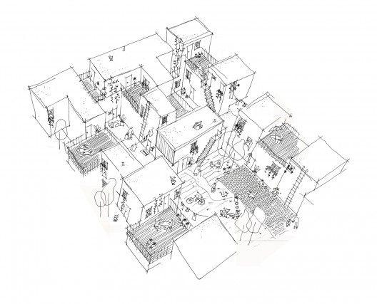 Centre Village, Winnipeg, Manitoba, Canada - by 5468796 Architecture