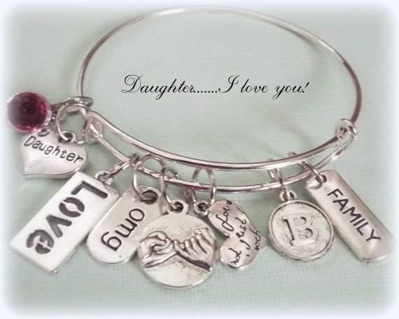 Daughter Gift Personalized Gift Gifts for Her by HopeisHipJewelry
