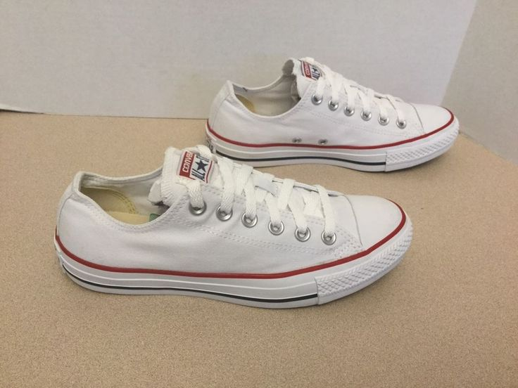 Womens White Converse All Star Shoes. Size 8. Great Condition!!! #Converse #FashionSneakers