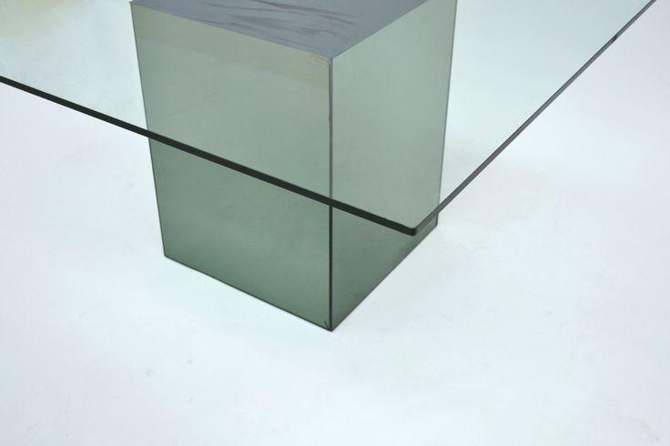 [Tavolo Block - Acerbis] - Spazio900 Modernariato
