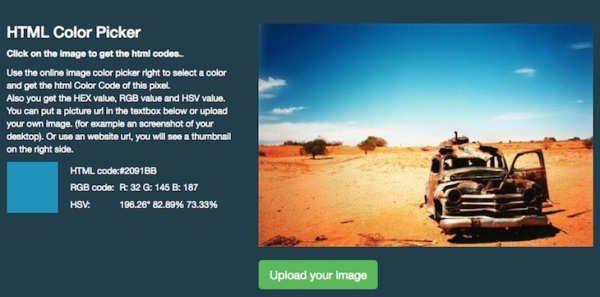 Todos aquellos que os dedicáis de una forma u otra al mundo del diseño habréis necesitado en más de una ocasión obtener de un modo rápido los valores hexadecimales de un color concreto. Por ejemplo, del tono de azul que aparece en una imagen determinada. Hoy os recomendamos Image Color Picker, una web que nos permite subir cualquier imagen para obtener dicha información.En general, el funcionamiento de la web de...