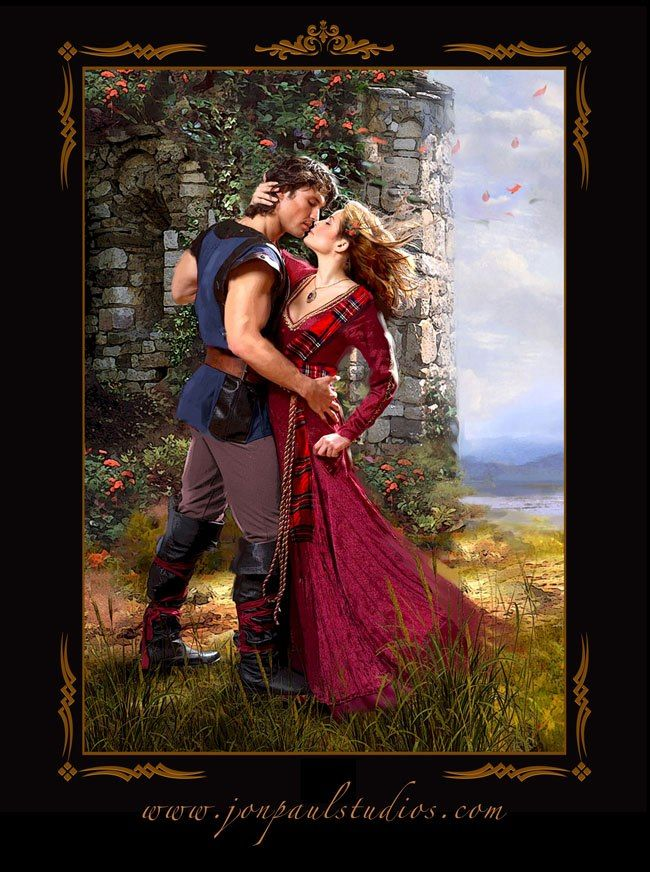 Free Romance Book Cover Art : Best images about celtic romantic fantasy art on