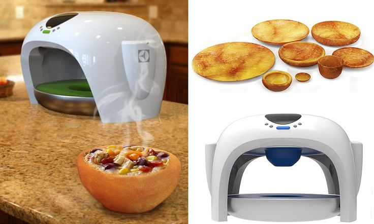 Device that bakes kitchenware means you'll never have to wash up again