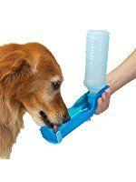 Anself Potabile Pet Dog Cat dell'acqua di alimentazione Drink Bottle Dispenser ciotola da viaggio 500ml