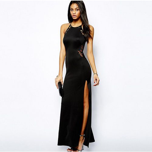 Women Ladies Formal Long Dress Prom Evening Party Cocktail Bridesmaid Wedding