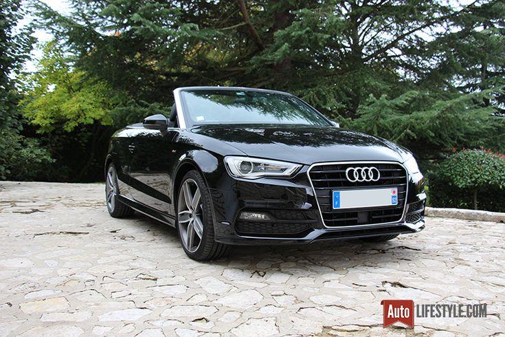 Essai : Audi A3 Cabriolet S line 1.8 TFSI 180 CH S tronic