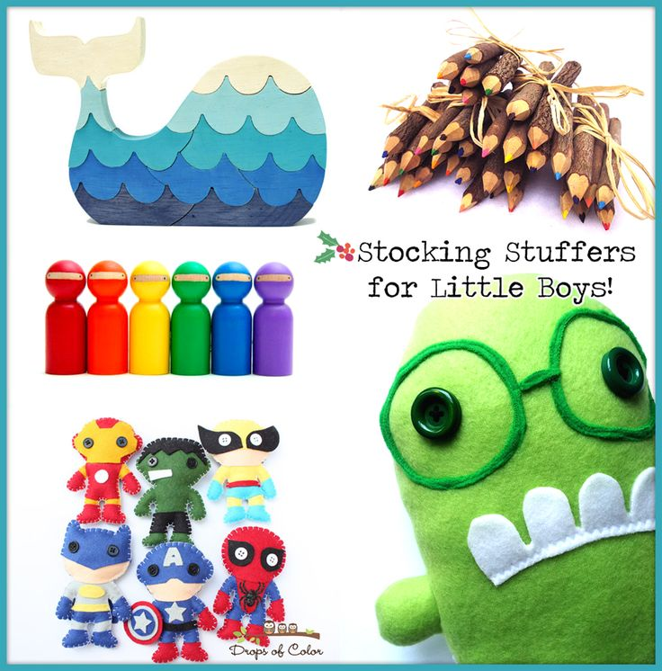 Stocking Stuffer Ideas for Little Boys...with HomeMade Style - The Cottage Market