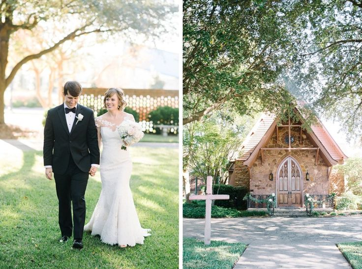 St John's Episcopal church wedding in Florence, SC a