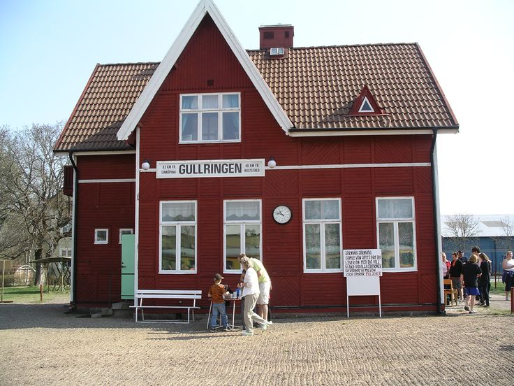 Gullringen train station.
