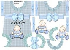 Baby Boy Romper Cute In Bleu