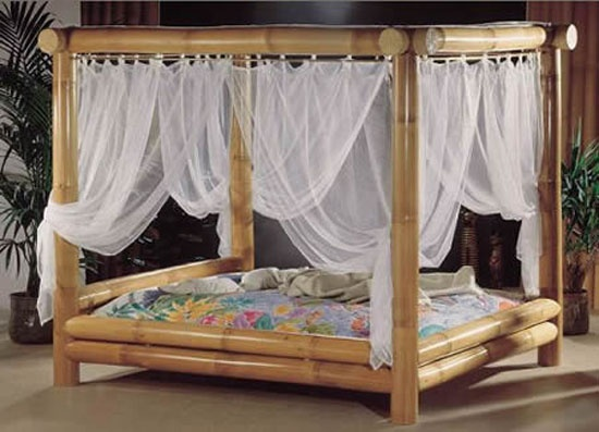 Best Bamboo Bed Canopy Inside My Island Home Pinterest 400 x 300
