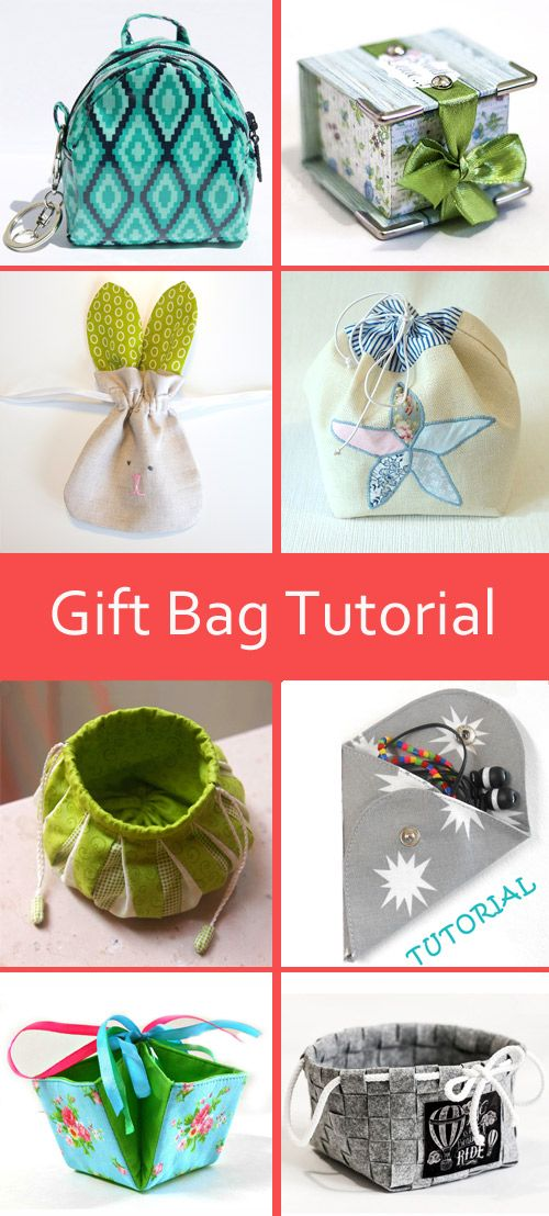 Free gift bag tutorial  http://www.free-tutorial.net/search/label/Gift%20Box