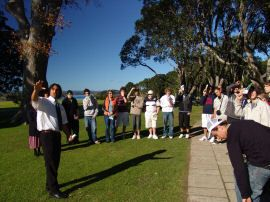 A guided tour of the Treaty Grounds