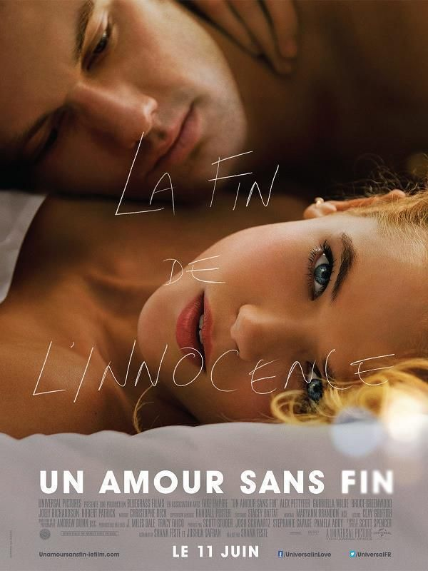 Endless Love    Un amour sans fin     Support: BluRay 1080    Directeurs: Shana Feste    Année: 2014 - Genre: Drame / Romance - Durée: 105 m.    Pays: United States of America - Langues: Français, Anglais    Acteurs: Alex Pettyfer, Gabriella Wilde, Robert Patrick, Rhys Wakefield, Emma Rigby, Joely Richardson, Bruce Greenwood, Dayo Okeniyi, Anna Enger, Fabianne Therese, Meaghan Jette Martin