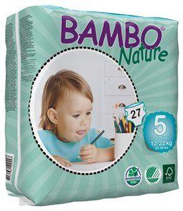 Pieluszki jednorazowe Bambo Nature Junior 12-22 kg 27 szt ABENA Toddlersi