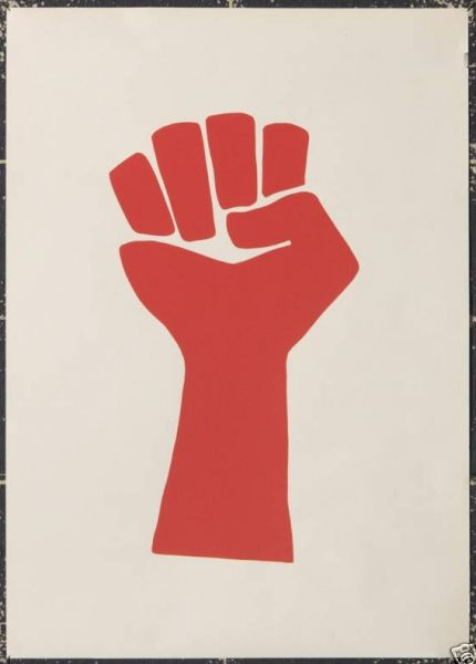 Vietnam protest poster 2 - Firefly House