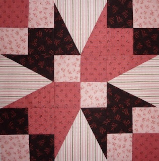 Kathy's Quilts: Chocolate Covered Strawberries Block 20