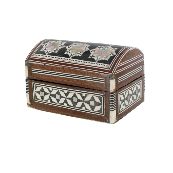 Egyptian Mother of Pearl dome box at British Museum shop online